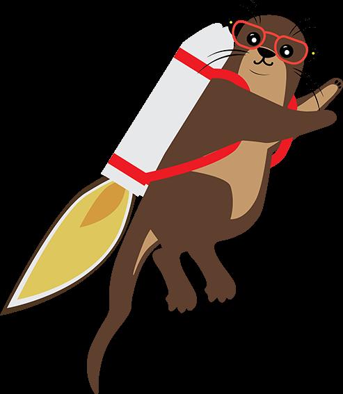 Online Otter Jetpack