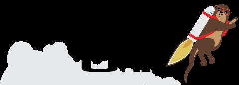 Online Otter Logo Retina